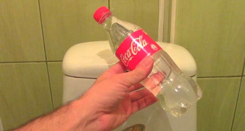 бутылка в бачок