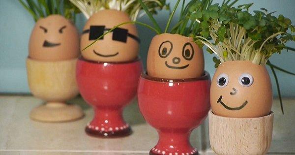 Симпатичная альтернатива пасхальным яйцам. Создай в доме весеннее настроение!
