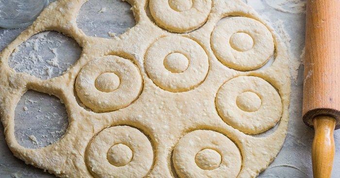 тесто для пончиков