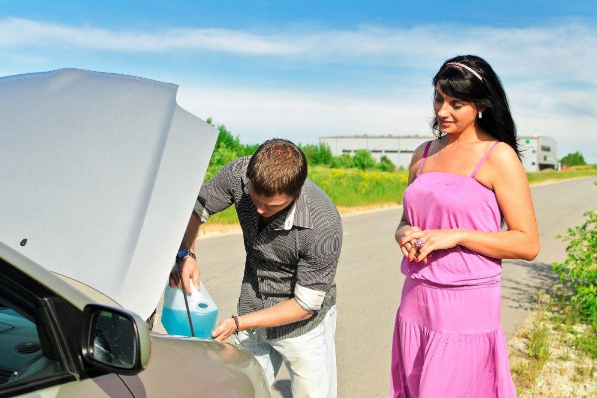 Антидождь» для стекла автомобиля из подручных средств