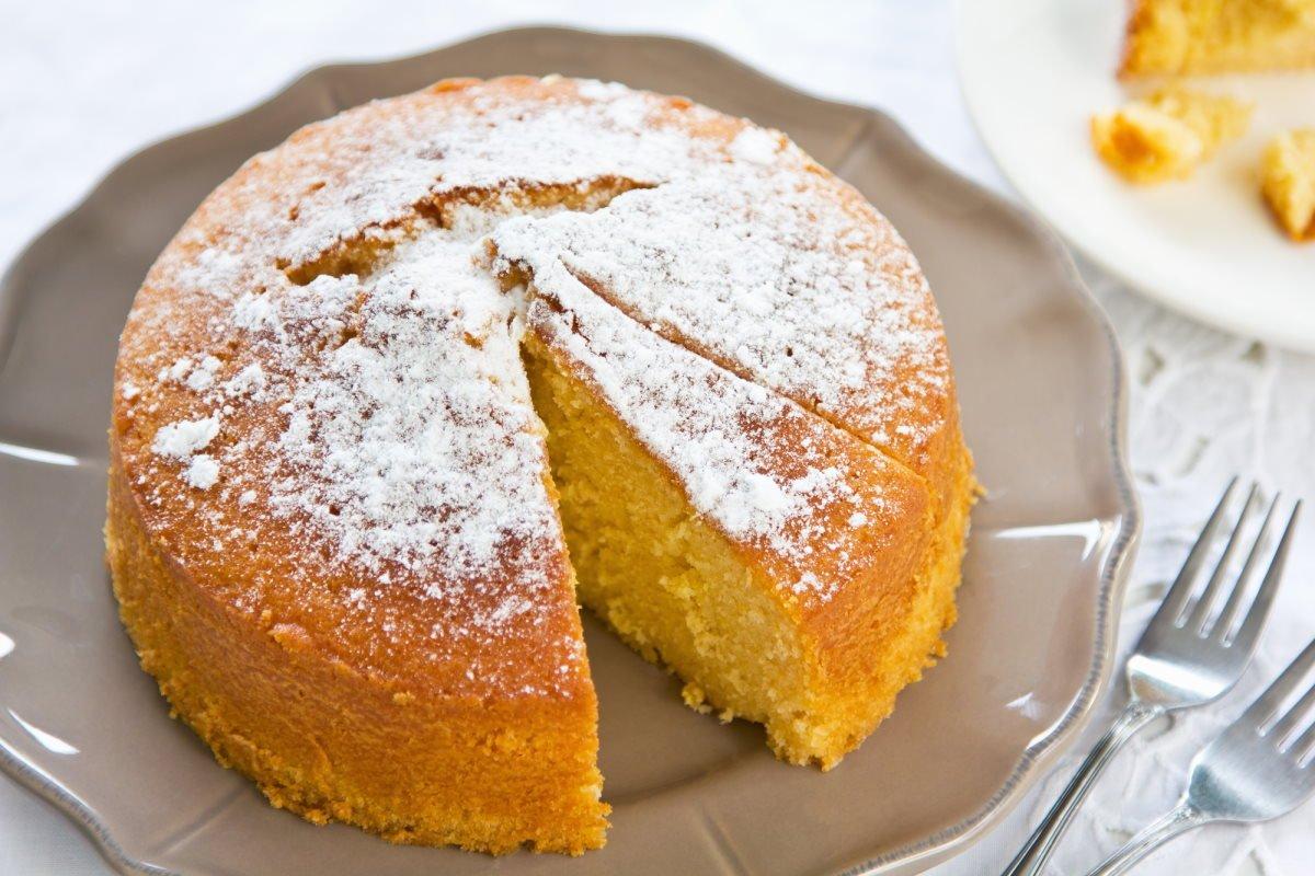 апельсиновый кекс без яиц