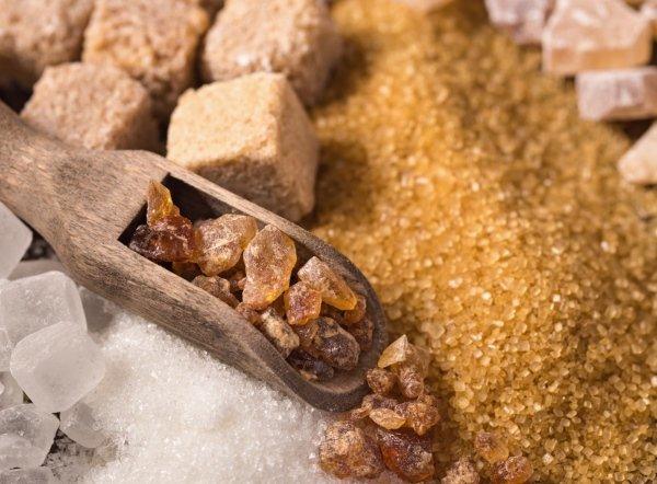 коричневый сахар фото
