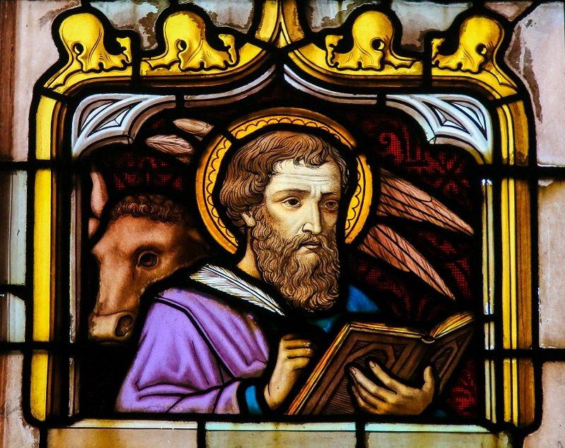 апостол лука икона
