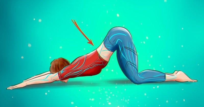 йога для спины для начинающих
