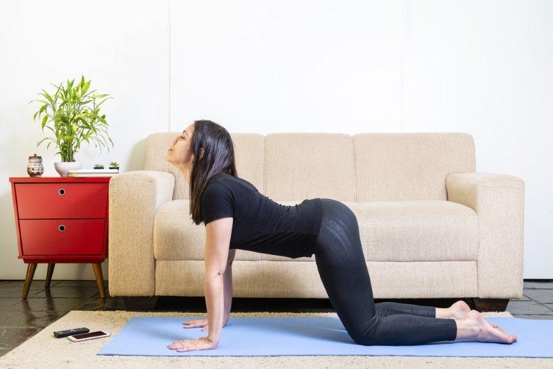 йога для спины боли