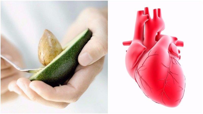 авокадо и сердце