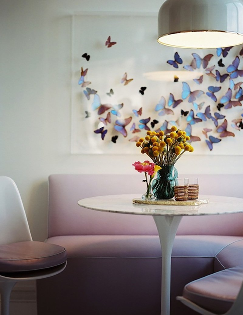 бабочки на стену из бумаги своими руками