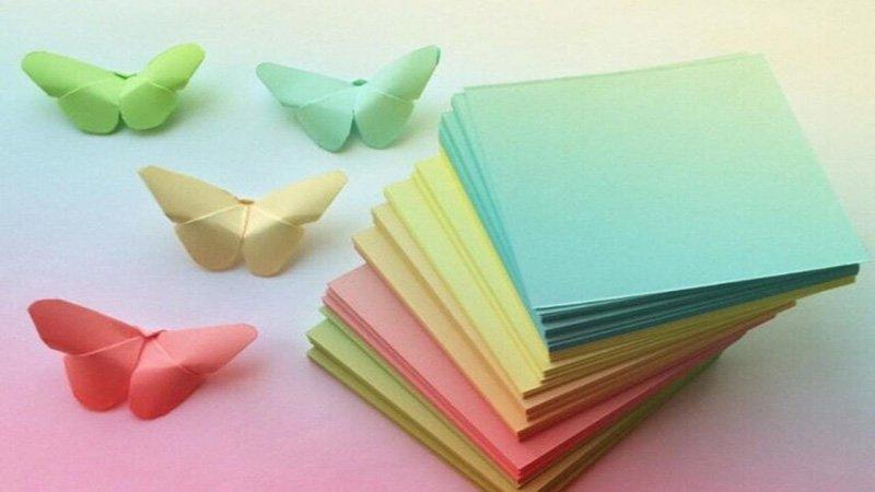 бабочки на стену из бумаги трафарет