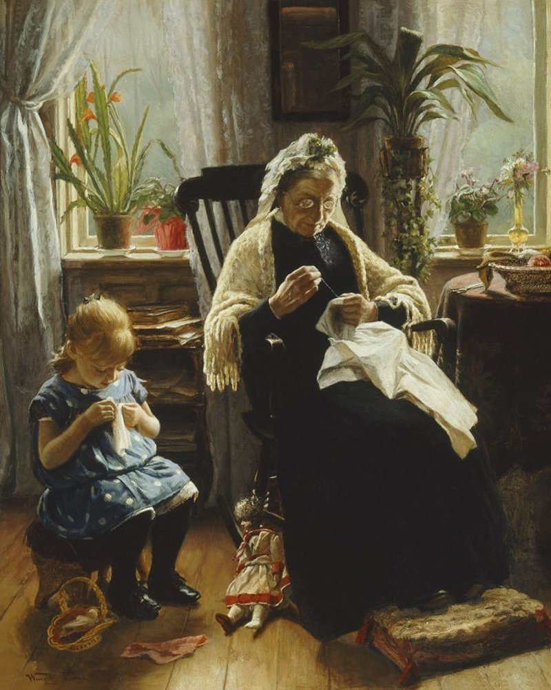 хорошая бабушка