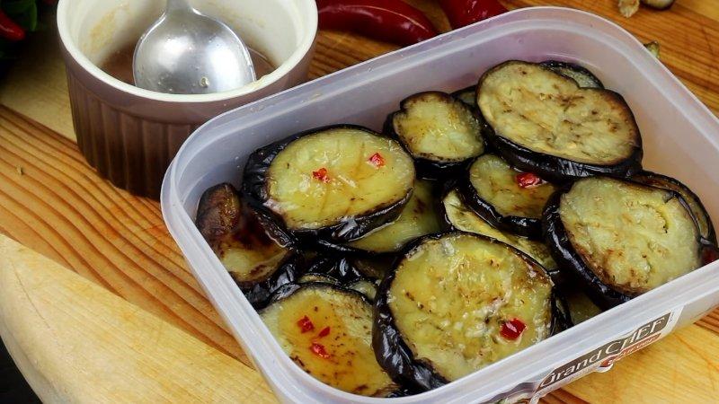 баклажаны жареные в сладком соусе