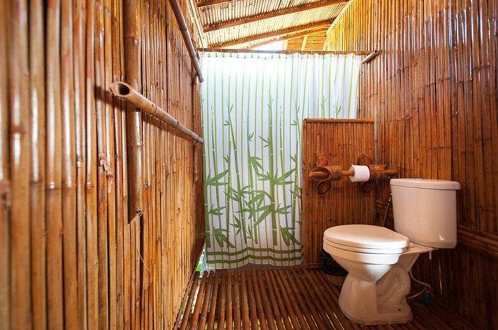 бамбук в интерьере прихожей