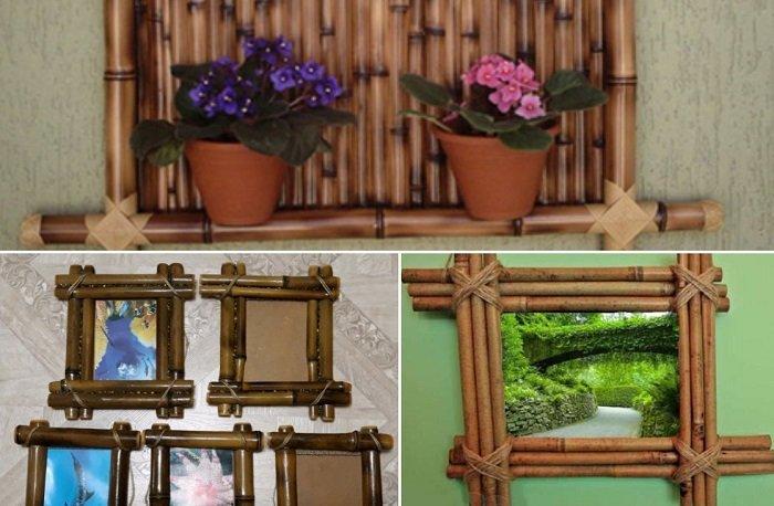 как использовать бамбук в интерьере