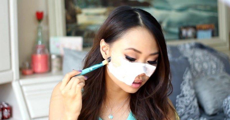 белковая маска для лица