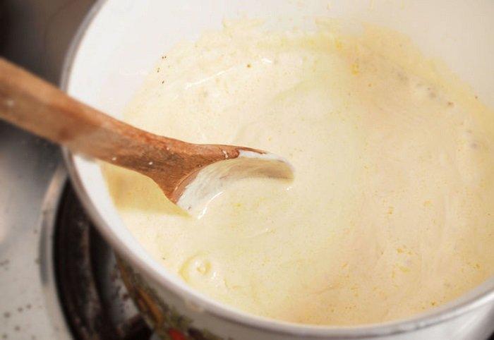 белый соус без муки
