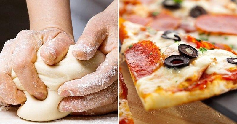 бездрожжевое тесто для пиццы на воде