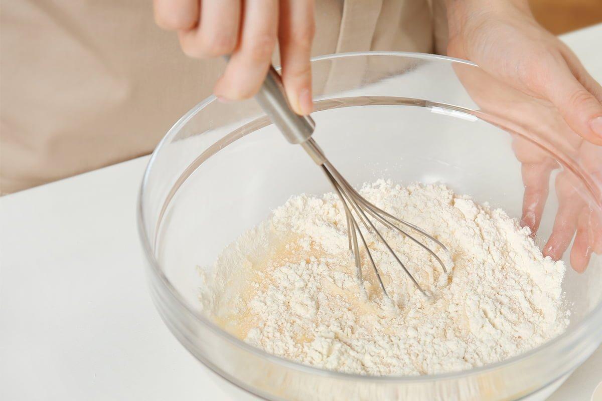 Готовим бездрожжевой хлеб в духовке на кефире