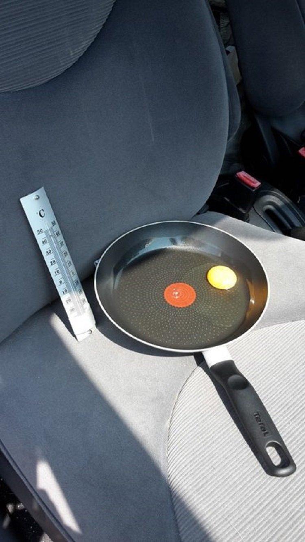 тепловой удар в машине