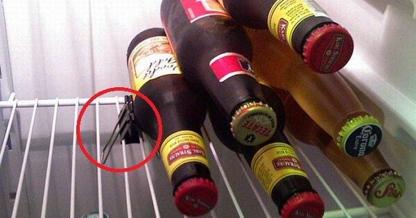 Используй эту вещь для экономии места в холодильнике. Просто гениальные лайфхаки!