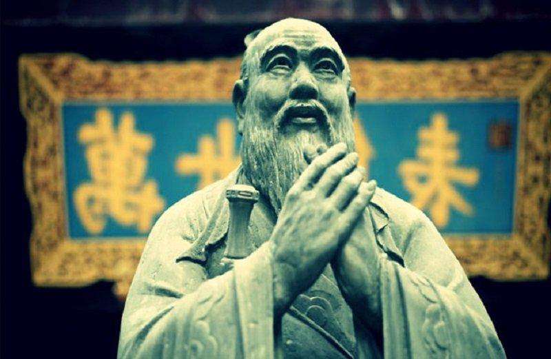 точка конфуция