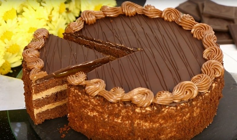 прага торт испечь