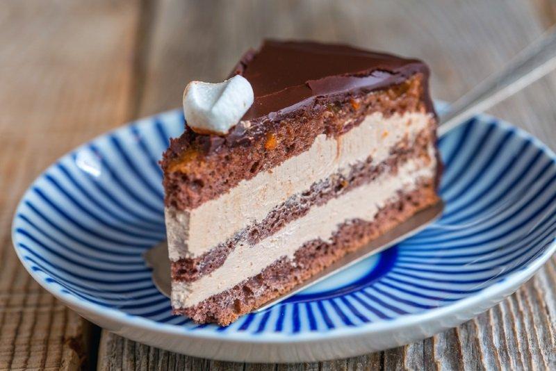 пражский торт фото