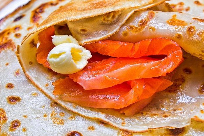 Зачем баловать гостей роскошными закусками Кулинария,Блины,Закуски,Лосось,Питание,Праздники,Продукты,Рыба