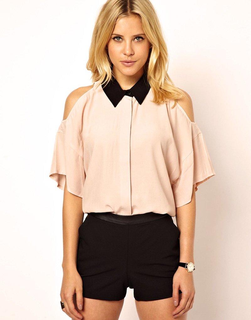 модная блузка выкройка