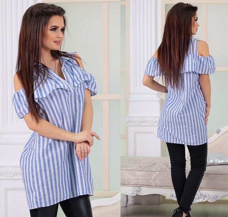 модная смелая блузка за пять минут
