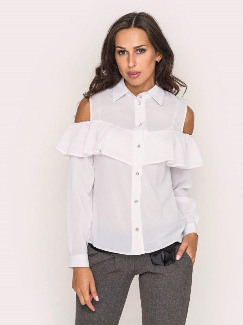 самая модная смелая блузка за пять минут