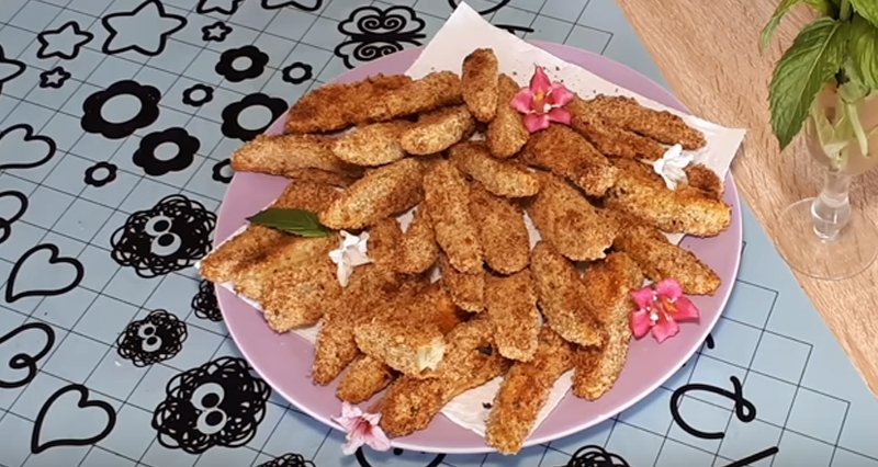 страви з кабачків в духовці з сиром