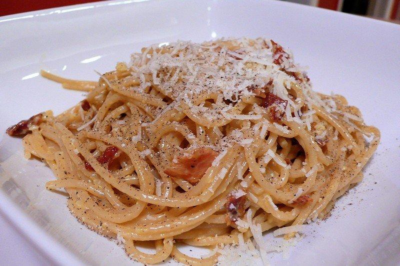 курица путаннеска со спагетти капеллини