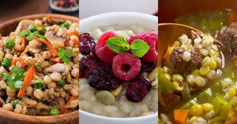 Не «кирзуха», но жемчужная каша королей! 5 вкусных блюд из подзабытой ныне «каши красоты».