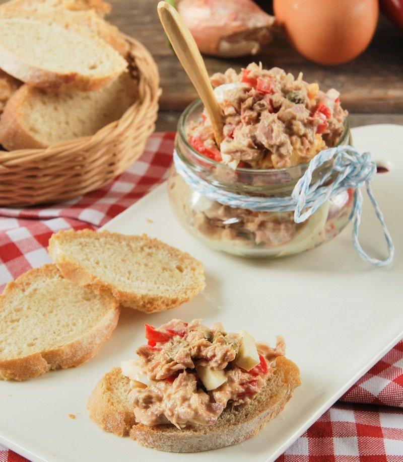 блюда из тунца консервированного с фото