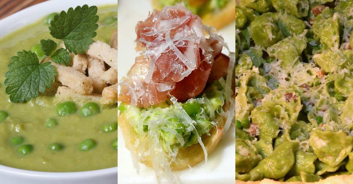 Пылкий шеф-повар показывает, что готовит из зеленого горошка каждый день