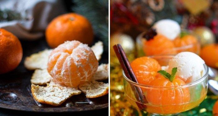 десерт з мандаринів