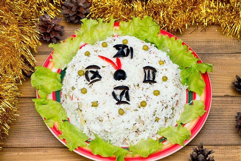 блюда на новый год