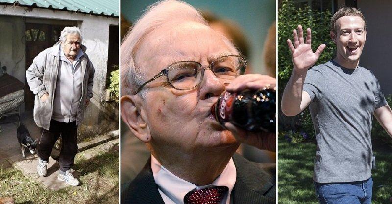 богатые люди которые живут скромно