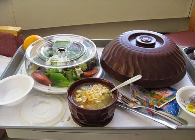 больничная еда в сша
