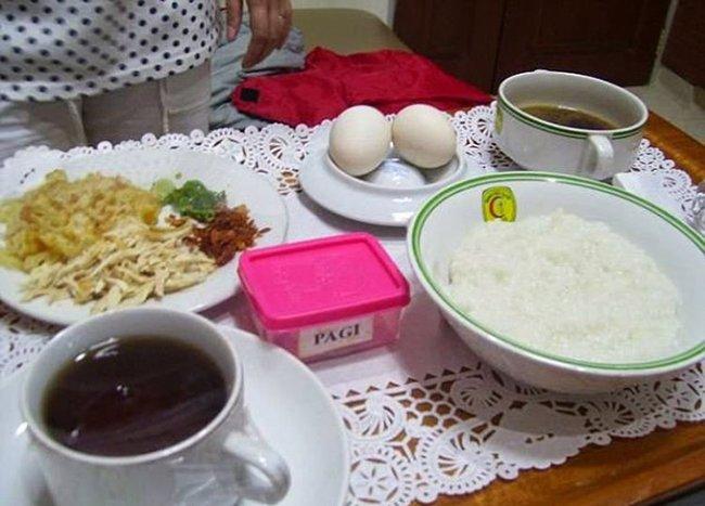 больничная еда в индонезии
