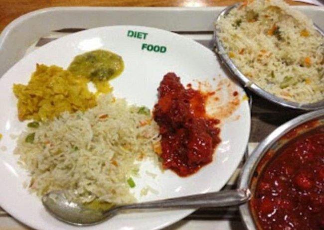 больничная еда в китае