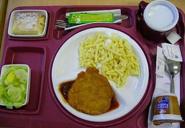 больничная еда в германии
