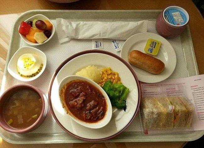больничная еда в австралии