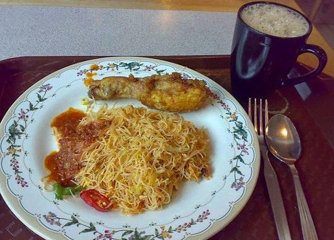 больничная еда в малайзии
