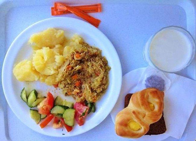 больничная еда в эстонии