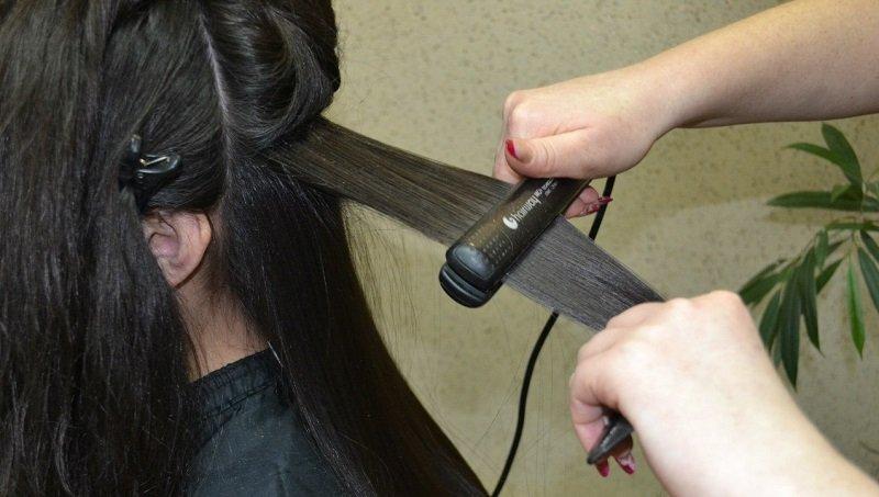 Keratín vyrovnávanie vlasov