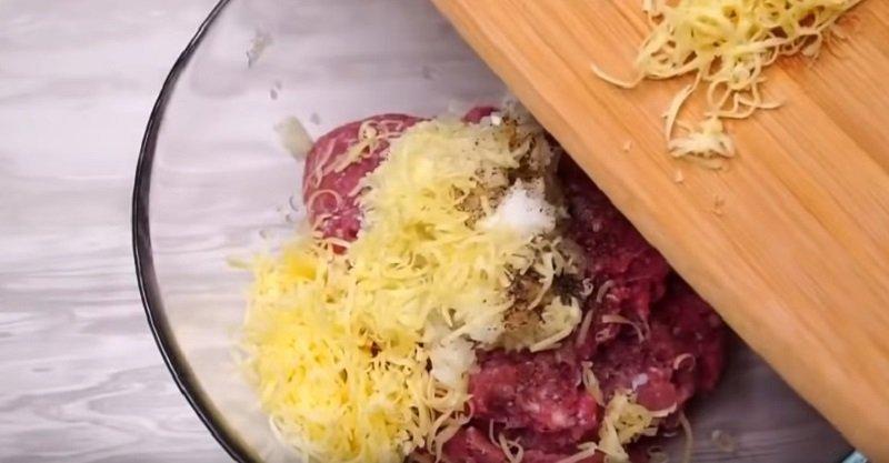 бризоль из фарша простой рецепт