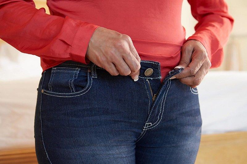 nohavice pre tučné ženy
