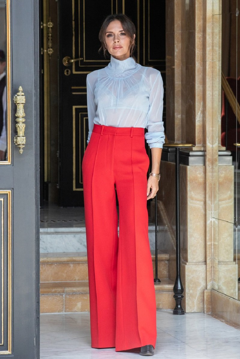 мода на брюки женские