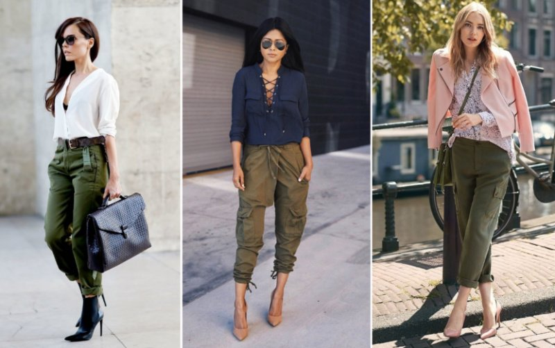 брюки каргоженские с чем носить