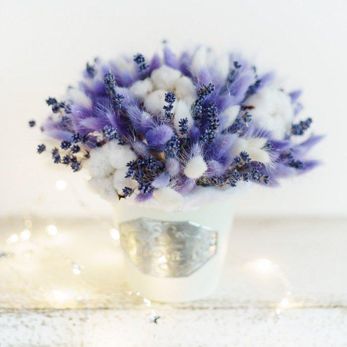 букеты из сухоцветов как сделать